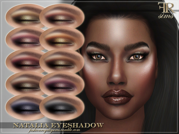 FRS Natalia Eyeshadow by FashionRoyaltySims