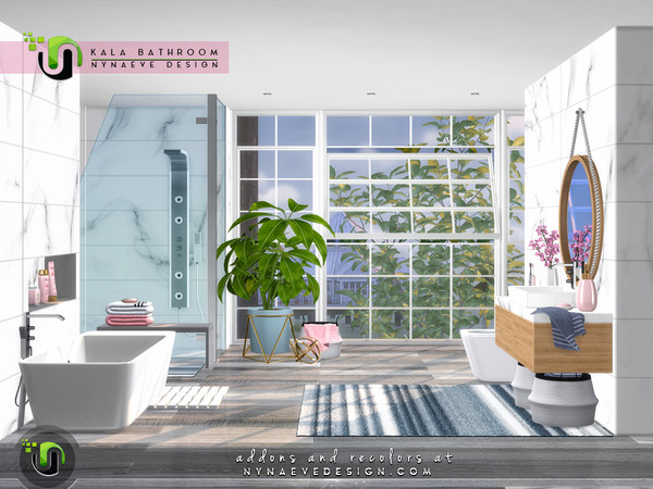 Kala Bathroom by NynaeveDesign