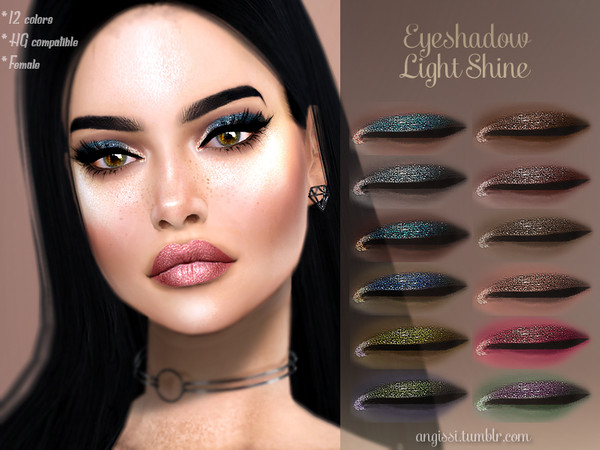 Eyeshadow -Light Shine by ANGISSI