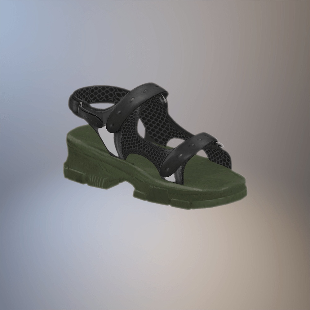 Leather Sandal by GramSims