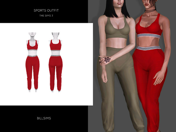 Sports Outfit by Bill Sims