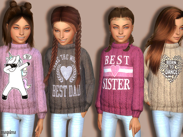 Winter Sweater 02 (Holiday Celebration Needed) by MSQSIMS