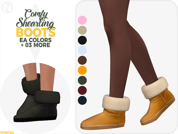 Comfy Shearling Boots by Nords