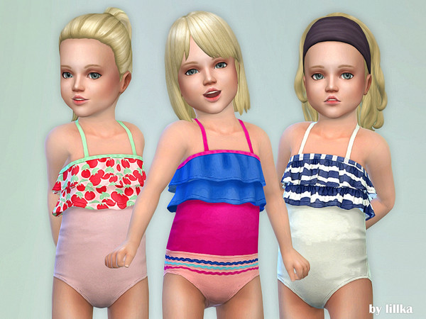 Toddler Swimsuit P05 by lillka