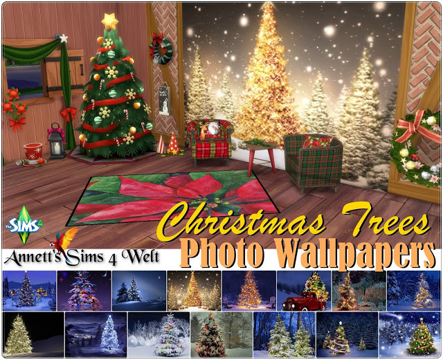 Christmas Tree Photo Wallpapers by Annett85