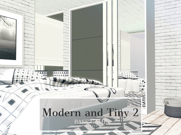Modern and Tiny 2 by Pralinesims