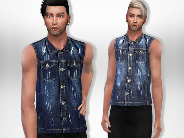 Denim Top2 by Puresim