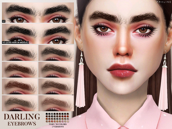 Darling Eyebrows N140 by Pralinesims