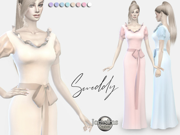 sweddy dress by jomsims