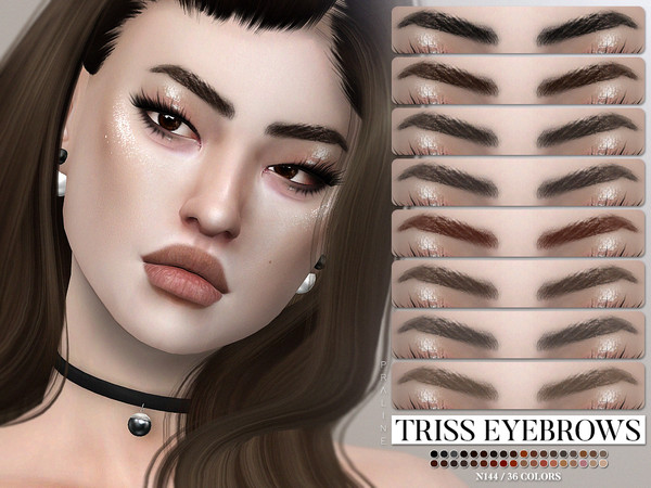 Triss Eyebrows N144 by Pralinesims