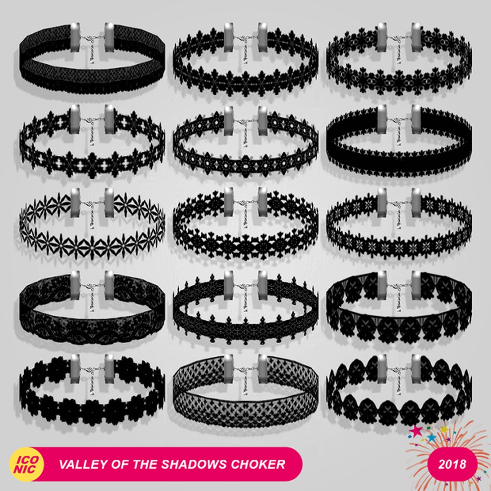 Valley Of The Shadows Choker by ICONIC (AbsolutelyIconic)