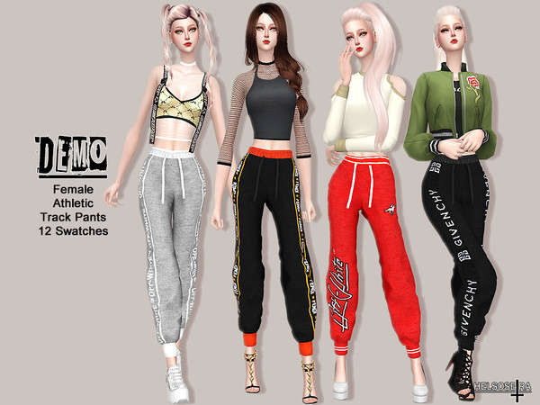 DEMO - Track pants by Helsoseira