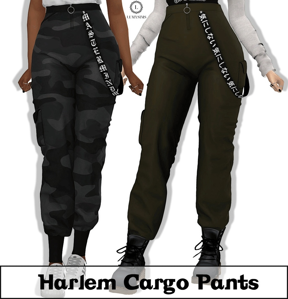 Harlem Cargo Pants by Lumy-Sims