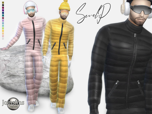 Swelp Snow male outfit by jomsims