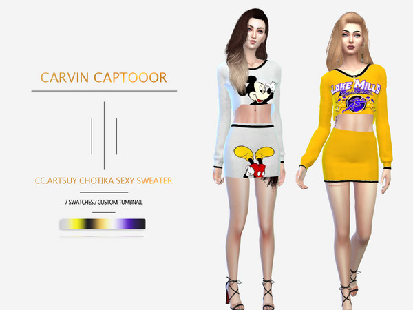 CC.artsuy chotika sexy sweater by carvin captoor