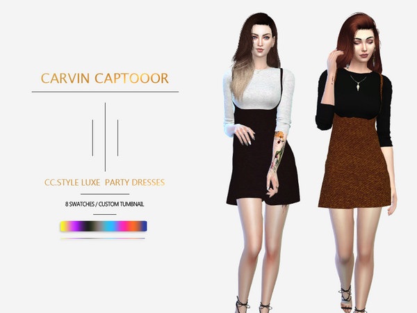 CC.Style Luxe Party Dresses by carvin captoor