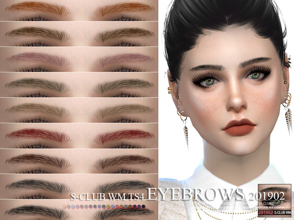 S-Club WM ts4 Eyebrows 201902