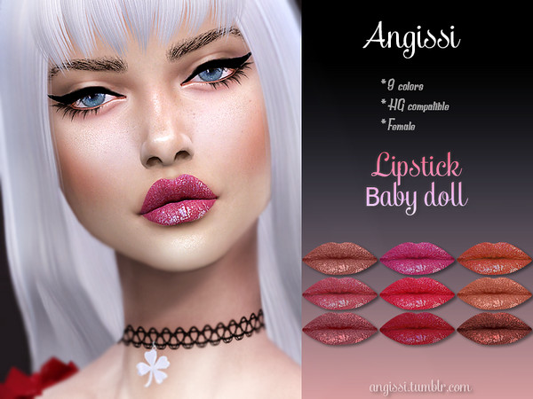 Lipstick-baby doll by ANGISSI