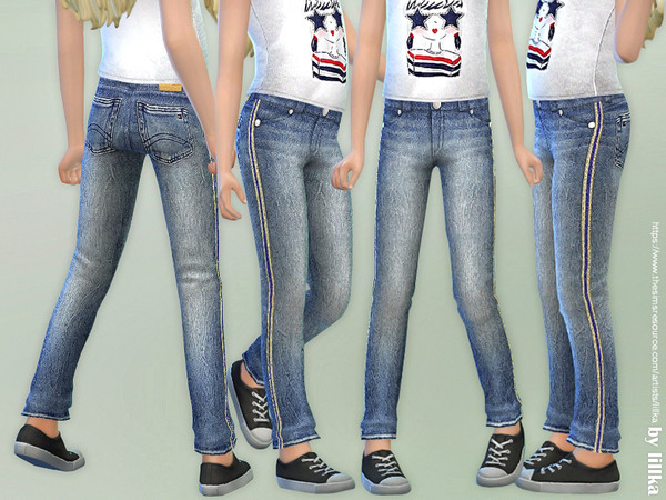 Girls Basic Jeans by lillka