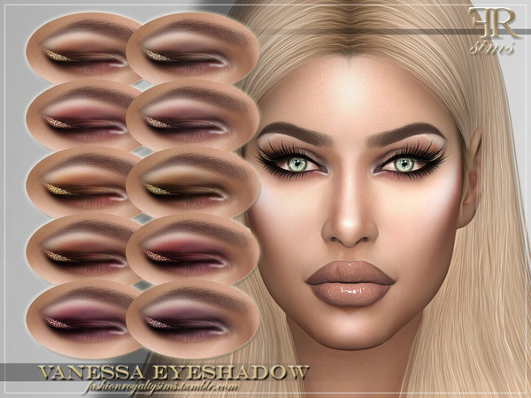 FRS Vanessa Eyeshadow by FashionRoyaltySims