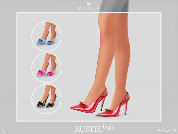 Madlen Rustel Shoes (High) by MJ95