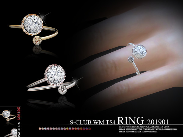 S-Club ts4 WM RINGS 201901