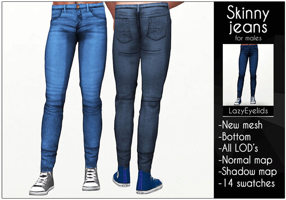 Skinny jeans by Lazy_Eyelids