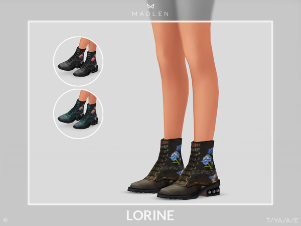 Madlen Lorine Boots by MJ95
