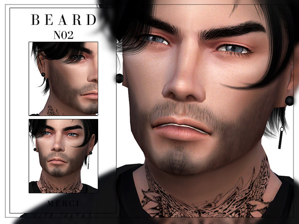 Beard N02 by -Merci-
