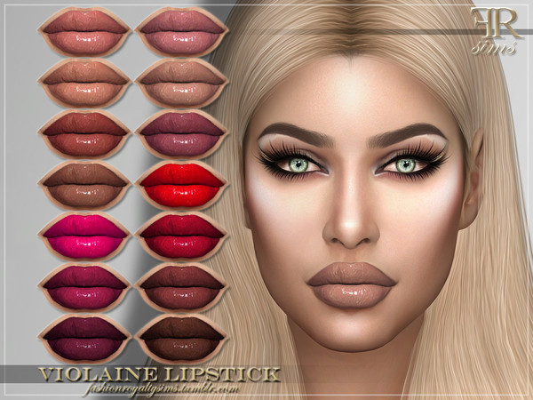 FRS Violaine Lipstick by FashionRoyaltySims