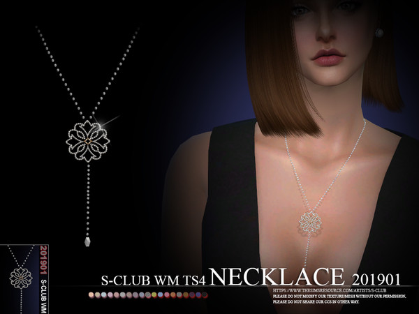 S-Club ts4 WM Necklace 201901