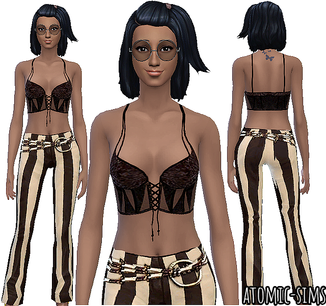 Sims2luxe Donation 11 conversion by Atomic-sims