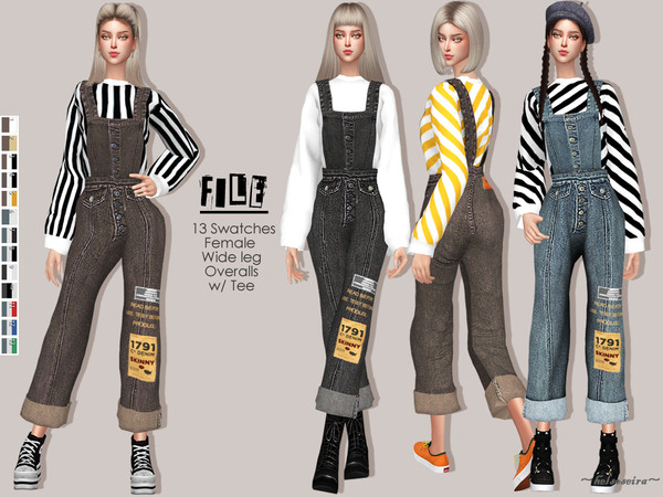 FILE - Denim Overalls by Helsoseira