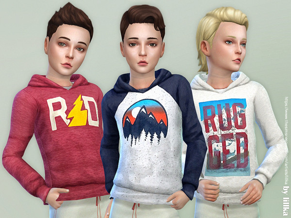 Hoodie for Boys P17 by lillka