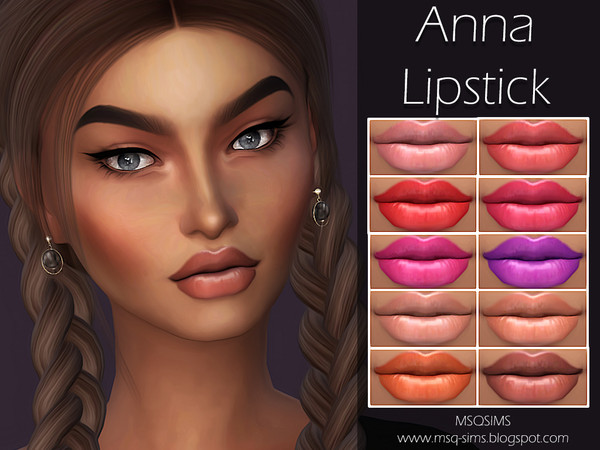 Anna Lipstick by MSQSIMS