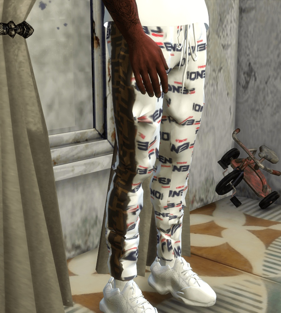 Fendi pants by BrandySims