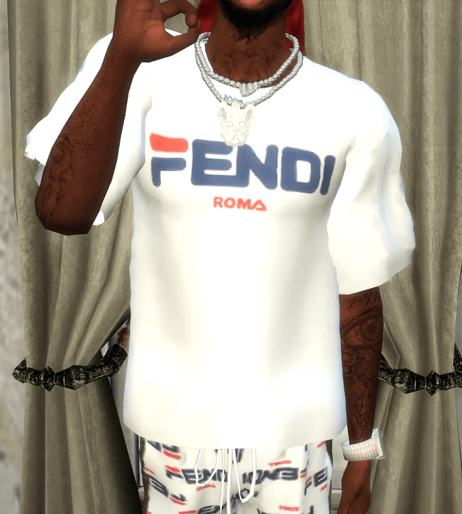 Fendi top by BrandySims