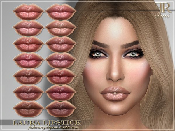 FRS Laura Lipstick by FashionRoyaltySims