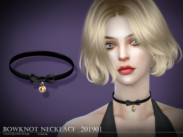 S-Club ts4 LL Necklace 201901