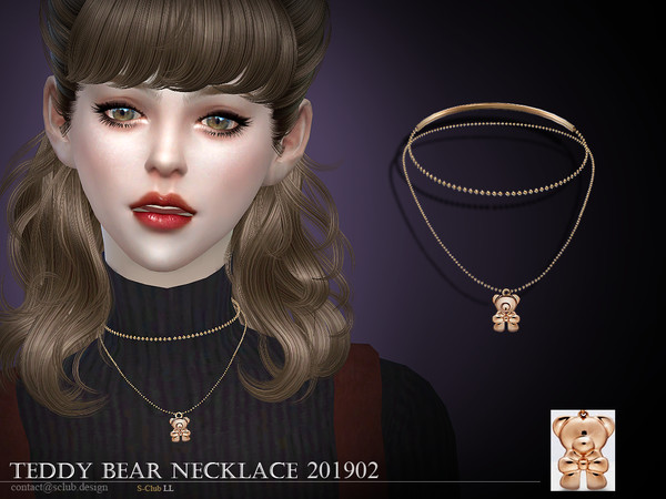 S-Club ts4 LL Necklace 201902