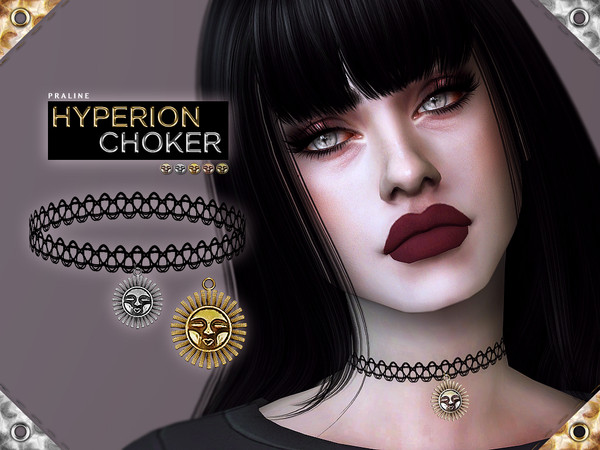 Hyperion Choker by Pralinesims
