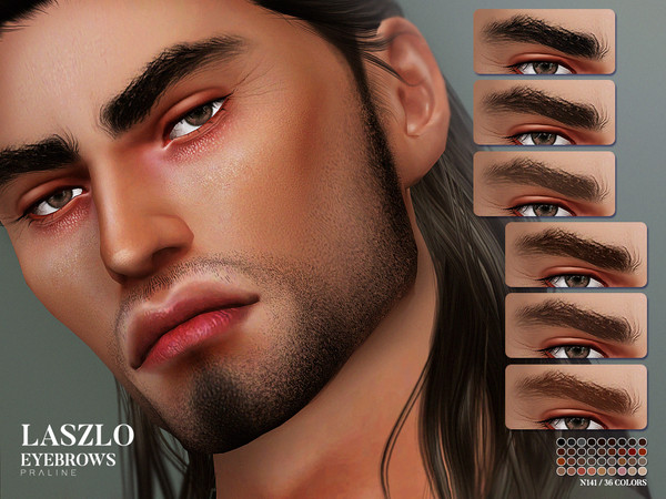 Laszlo Eyebrows N141 by Pralinesims