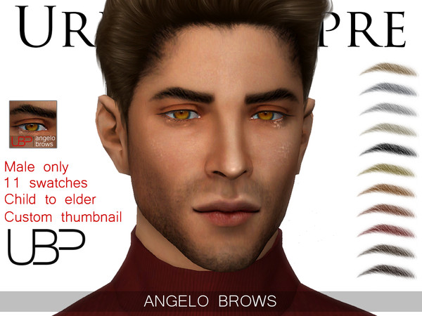 Angelo brows by Urielbeaupre