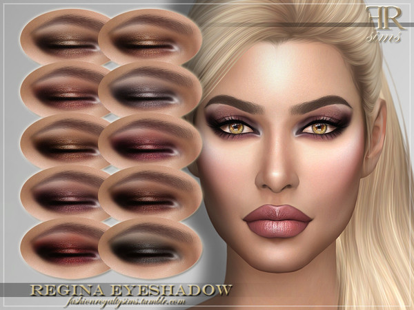 FRS Regina Eyeshadow by FashionRoyaltySims
