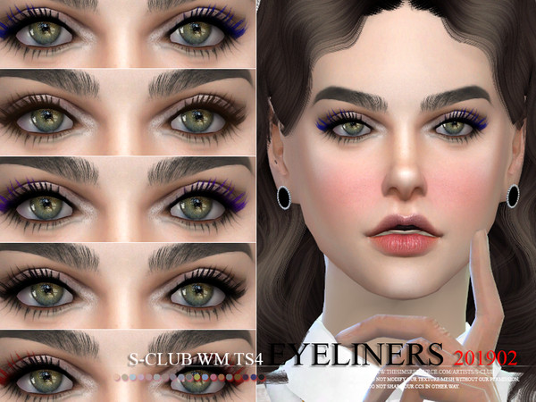 S-Club WM ts4 eyeliners 201902