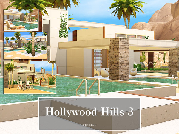 Hollywood Hills 3 by Pralinesims