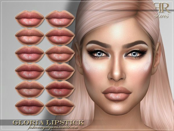 FRS Gloria Lipstick by FashionRoyaltySims