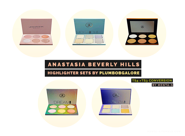 PlumbobGalore Anastasia Beverly Hills Collection by menta-s