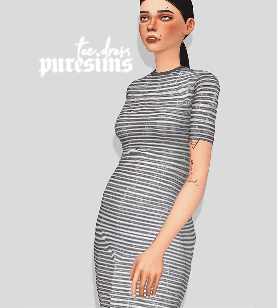 Tee dress by Puresims