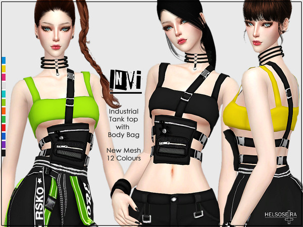 INVI - Industrial Top w/ Body Bag by Helsoseira